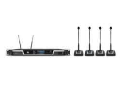 LD Systems Četverokanalni bežični mikrofonski set za konferencije 554-586 MHz  U505 CS 4