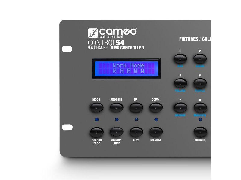 Cameo Kontroler DMX CLCONTROLl54, 54 kanala