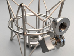 Stabilizator mikrofona, srebrni, za na stalak