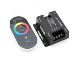DDO Kontroler za LED traku,  bežični s temperaturom boje, daljinski, 24V 3 kanala, max 432W