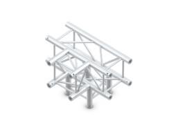 Milos Alu konstrukcija, kvadratna, kut 4 starne, pod 90° lijevo/desno/dolje/ravno + spajalice