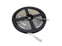 LED traka 3528 120 ledica/m 12V 9,6W/m prirodna bijela IP20 – bijela baza – Optonica