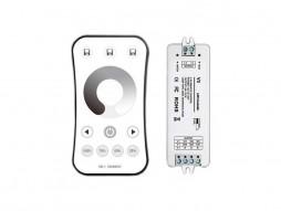 Optonica Set reciver i daljinski kontroler LED jednobojni dimabilni RF 2.4G 3CH 3x4A V3 12/24V