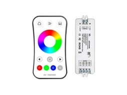 Optonica Set reciver i daljinski kontroler LED RGB dimabilni RF 2.4G 3CH 3x4A V3
