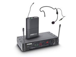 Bežični mikrofonski set naglavni, 16 kanala 863-865MHz – LD SYSTEMS WSECO16 BPH