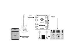 Palmer DI Box, pasivni, PAN04, stereo