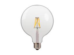 LED žarulja G125 4W 400LM E27 175-265V 2700K topla bijela žarna nit – Optonica