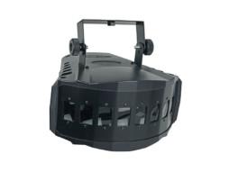 LED efekt XB-Derby, 2x9W RGB 3u1, 30W, DMX – Showtec