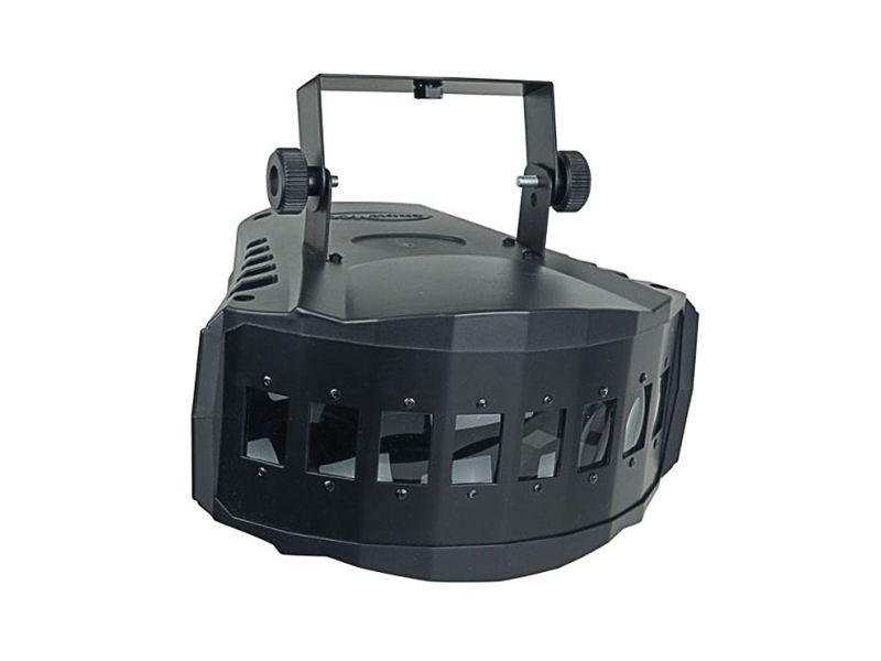 Showtec LED efekt XB-Derby, 2x9W RGB 3u1, 30W, DMX