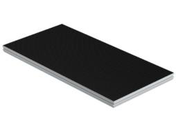 Platforma za modularnu pozornicu,Vodootporna protuklizna šperploča s alu okvirom, 200×100 cm, nosivost 750 kg/m2, Hexa