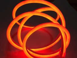 Optonica LED NEON Strip 220V Amber(zlatna žuta) – IP65 vodootporno