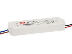 Meanwell Napajanje za LED traku, 12V/18W, AC 180-264V, IP67