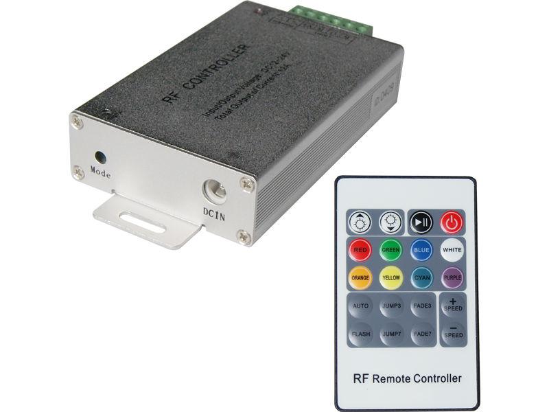 DDO Kontroler za Led traku 12-24V 8Ax3kanala s RF/IR daljinskim 20 tipki
