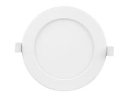 LED panel ugradbeni, okrugli, DIMABILNI 9W, prilagodljiv intenzitet bijele boje 3000K-6000K IP44 – Optonica
