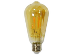 LED žarulja 4W E27, filament amber, topla bijela 2200K -Vtac