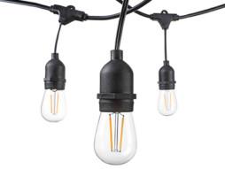 Strujni kabel za vanjsku upotrebu žarulje E27/15 komada IP65 vodootporno 14.4M fleksibilno grlo – Optonica