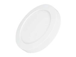 LED panel nadgradni okrugli 12W AC165-265V 950LM CCT prilagodljiv intenzitet bijele boje 3000K-6000K – Optonica
