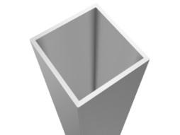 Fiksne noge za aluminijsku pozornicu, visina 60cm, četvrtaste (set 4 kom)