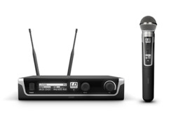 LD Systems Bežični mikrofosnki set s ručnim dinamičkim mikrofonom 655-679MHz  U506 HHD