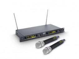 LD Systems Bežični mikrofonski set s 2 dinamička ručna mikrofona 516-558MHz WIN 42 HHD 2 B 5