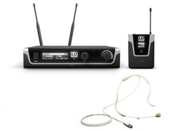 LD Systems Bežični mikrofonski set s bodypackom i bež naglavnim mikrofonom 584-608MHz  U505 BPHH