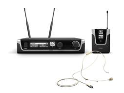 LD Systems Bežični mikrofonski set s bodypackom i bež naglavnim mikrofonom 655-679MHz  U506 BPHH