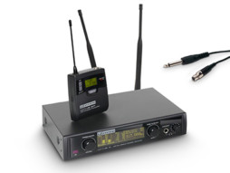 LD Systems Bežični mikrofonski set s belt packom i kablom za gitaru 516-558MHz  WIN 42 BPG B 5