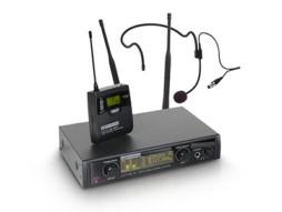 LD Systems Bežični mikrofonski set s belt packom i headsetom 516-558MHz  WIN 42 BPH B 5