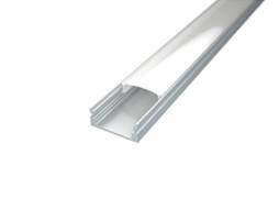 LED profil Surface 1, mliječni pokrov 2m, BIJELI