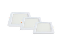 LED panel ugradbeni četvrtasti 18W AC95-265V 1500LM hladno bijela 6000K City line – Optonica
