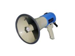 Megafon 65W s MP3/USB playerom, snimačem i punjivom baterijom