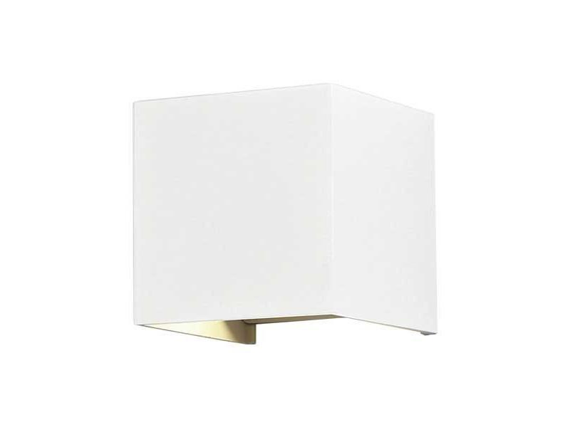 Optonica LED lampa zidna kocka EPISTAR AC100-240V 6W IP54 494LM bijelo kućište 3000K topla bijela