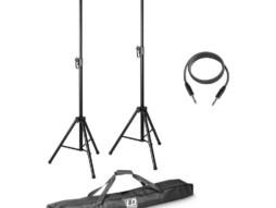LD Systems MIX 6 G2 SET 2 set 2 stalka za zvučnike, trasportnom torbom i kablom za zvučnike za MIX 6 (A) G2 10m