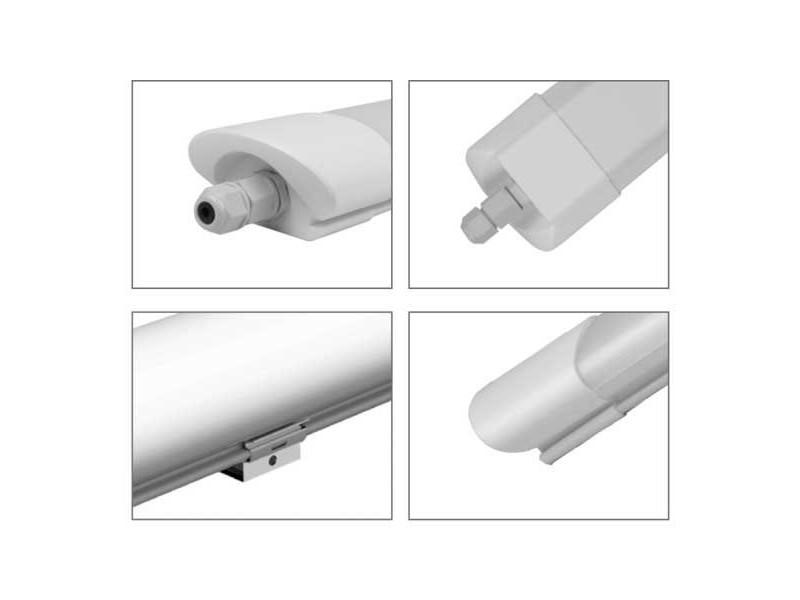 Optonica LED LIGHT FITTING 36W 125CM IP65 vodootporno 3000LM 4000K prirodna bijela – FLICKER FREE WITH FAST M12 CABLE GLAND