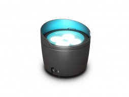 Cameo LED reflektor na baterije DROP B1 4x15W RGBWA+UV outdoor IP65, crni