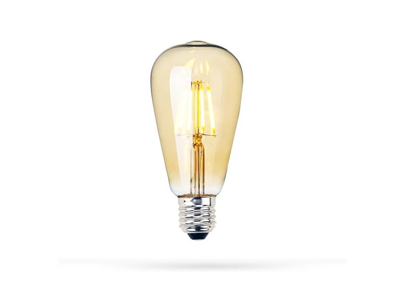 LED žarulja E27, ST64, 3000K, 8W, amber dimabilna