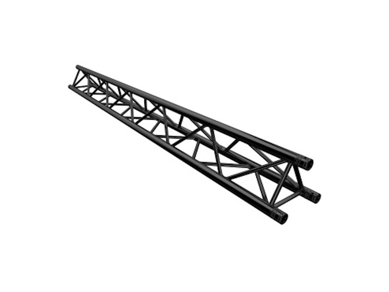 Alu konstrukcija, trokut, deco truss 22*22**22 dužina 150cm, crna