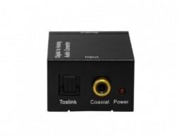 Digitalno analogni konverter D/A, HI FI, uključuje napajanje i optički kabel