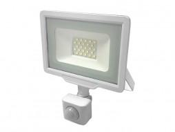 Optonica LED SMD reflektor bijeli 30W 2400LM AC220-265V 120° IP65 vodootporno 4500K prirodna bijela – sa senzorom