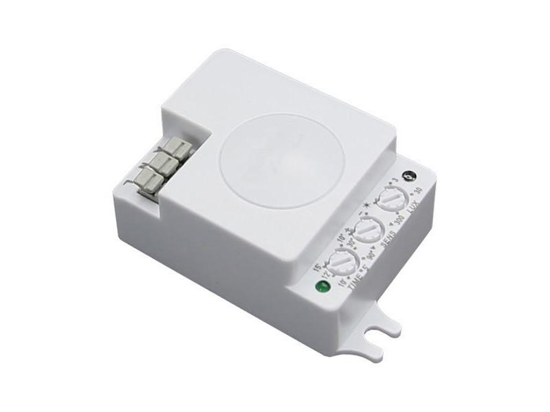 Optonica Senzor mikrovalni IP20 AC110-240V 5.8 Ghz D:3-10m 180°/300° Lux:10-2000