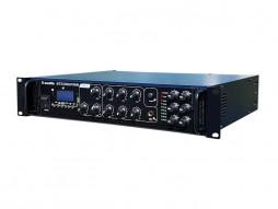 X-Audio Pojačalo 100V, 350W, MP3/USB/SDcard/Bluetooth, FM radio, 6 zona s regulacijom