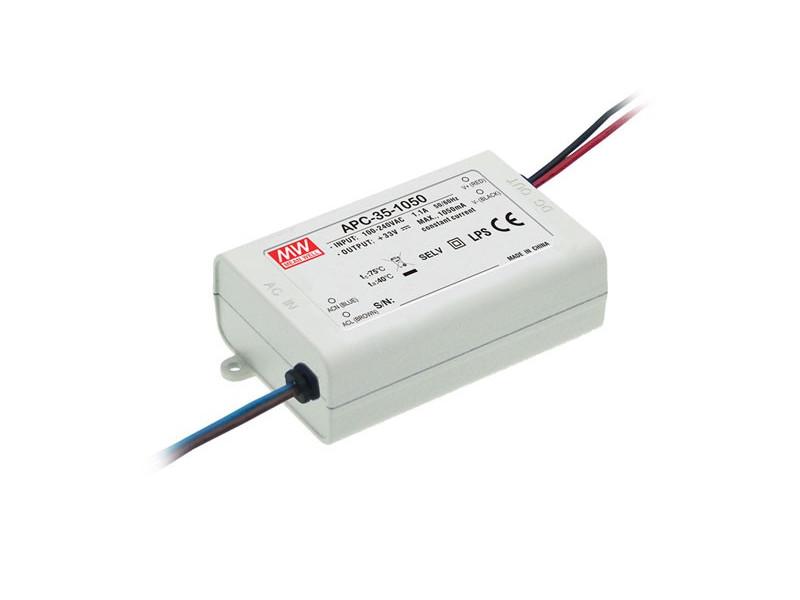 MEAN WELL Napajanje za LED traku Konstantne struje 35W 28-100V 350mA IP42