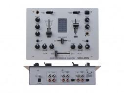 DJ mixer DJM205, 2 kanala + 1mic – X-Audio