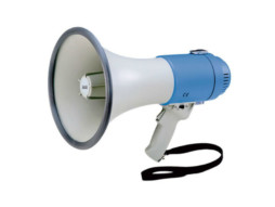 Megafon MF25F, ručni, 25 W, sa sirenom – DAP