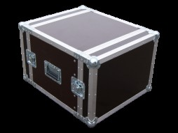 "Flightcase kofer 19"" rack, 8 U, PRO, 9 mm šperploča"