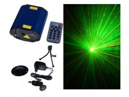 CR Mini Laser M-800RG animacijski oblici+ točkasti  crvena(100mw) – zelena (50mW)