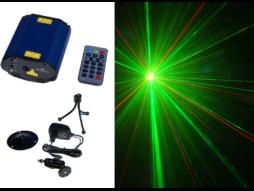 Mini Laser M-800, 100mW crvena + 50mW zelena, Multi Grating efekt – CR