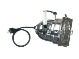 Reflektor Par56, srebrni, kratki s kablom i šuko utikačem – Showtec