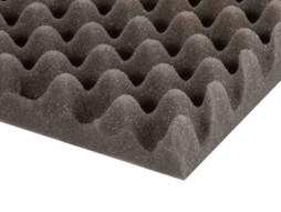 Adam Hall Spužva za rack Eggbox, siva, debljina 50 mm, 2x1m