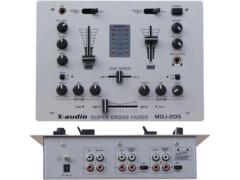 X-Audio DJ mixer, 2 kanala + 1mic